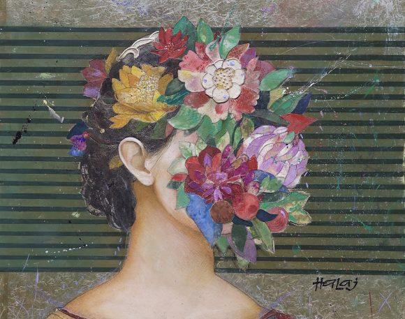 Floral Face #6