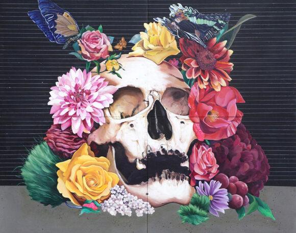 Floral Skull #1
